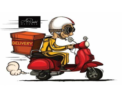 dal 3 Dicembre riapriamo con l'asporto e il delivery